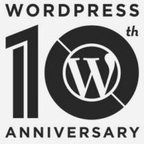 WordPress fête ses 10 ans!!! Les raisons de son succés