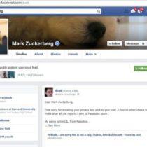 La page Facebook de Mark Zuckerberg a été piratée