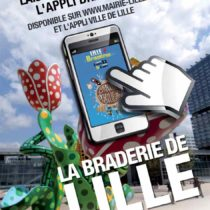 Braderie de Lille 2013 : l'application officielle de la ville de Lille
