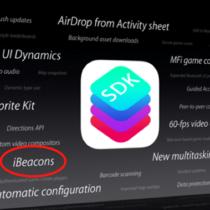 iOS7: iBeacons, la nouveauté qui va faire parler