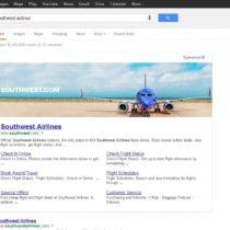 Google teste un format de bannière dans les résultats sponsorisés