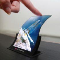 LG lance la production d'un écran flexible pour smartphones