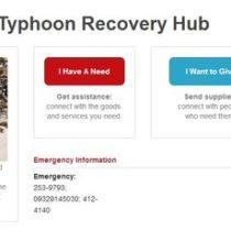 Des applications Web pour aider les Philippines après le passage du typhon Haiyan