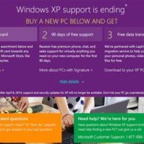 Microsoft paye les utilisateurs de Windows XP pour se mettre à jour