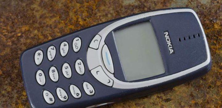 Le 3310 de Nokia remis en vente