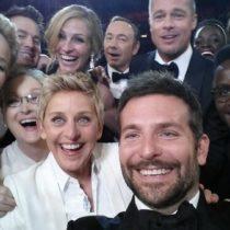 Le selfie des Oscars explose le record du nombre de retweets