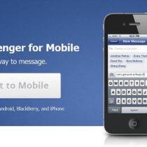 Facebook va obliger à installer Messenger pour utiliser le chat sur mobile