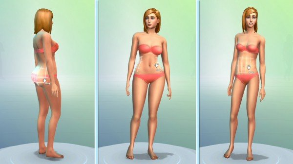 Création personnage sims 4