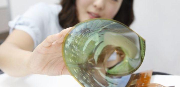 LG : les écrans souples et transparents en 2017