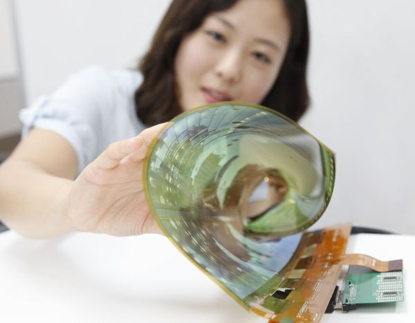 lg ecran souple transparent
