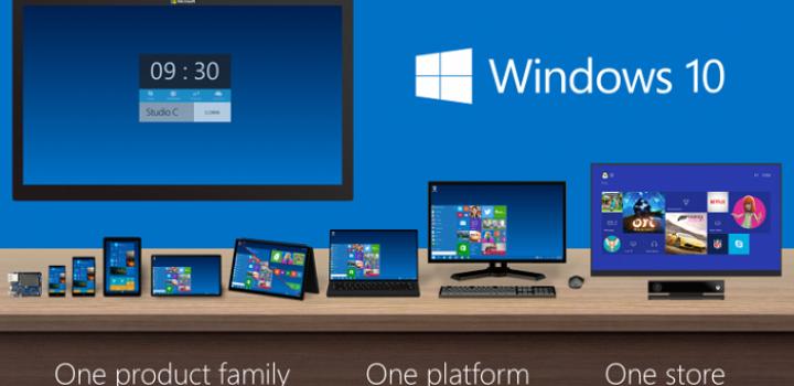 Microsoft présente Windows 10