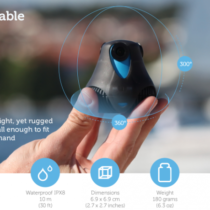 CES 2015 : Giroptic, une caméra 360° made in france