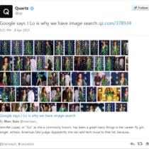 Le décolleté plongeant de Jennifer Lopez a donné l'idée à Google de créer Google Images