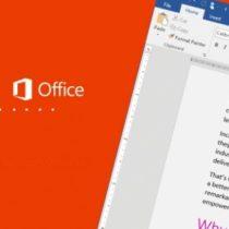 Microsoft Office 2016 disponible en bêta publique