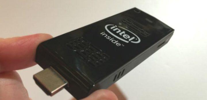 Compute Stick: Le PC d'Intel qui ne pèse que 38 grammes