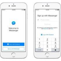 Plus besoin d'un compte Facebook pour utiliser Messenger