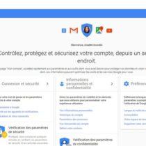 Google crée «Mon compte» pour mieux gérer sa vie privée en ligne