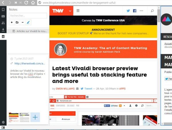 Navigateur Web Vivaldi