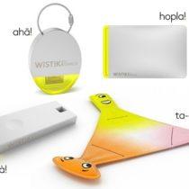 De nouveaux design pour les porte-clés connectés Wistiki
